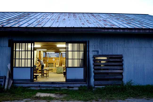 家具の藤倉の自社工場写真01|山形県米沢市の家具・インテリア・オーダメイド家具屋