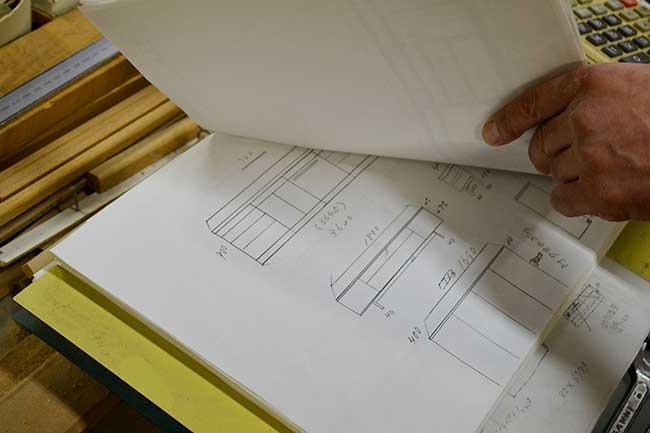 家具の藤倉の自社工場写真04|山形県米沢市の家具・インテリア・オーダメイド家具屋