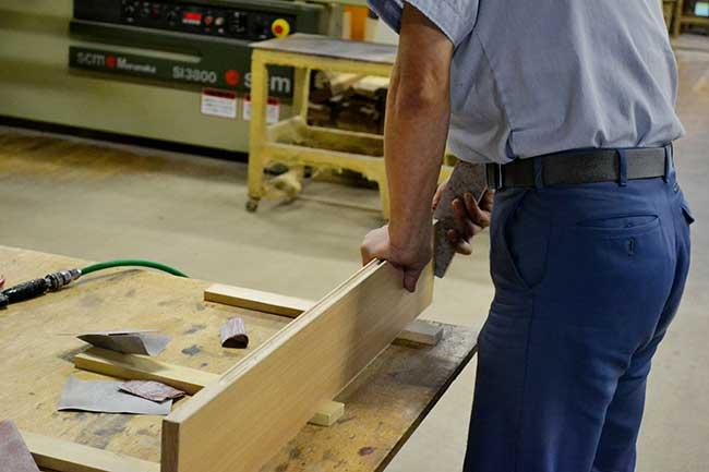家具の藤倉の自社工場写真05|山形県米沢市の家具・インテリア・オーダメイド家具屋