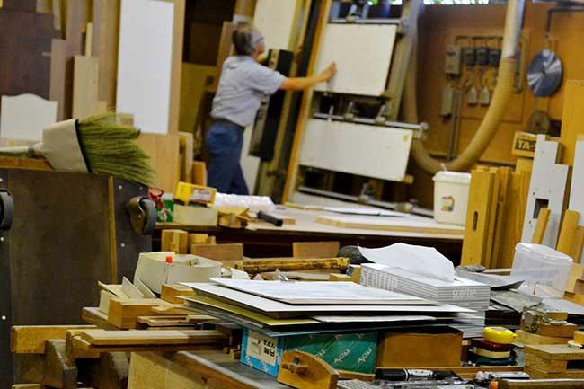 家具の藤倉の自社工場写真06|山形県米沢市の家具・インテリア・オーダメイド家具屋