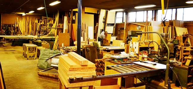 家具の藤倉の自社工場|山形県米沢市の家具・インテリア・オーダメイド家具屋